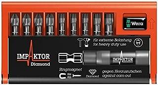 WERA 5057683001 bit-CHECK IMPAKTOR PZ/TX 10PC [1] (certificado personificación)