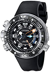 Citizen Eco-Drive Men's BN2029-01E Promaster Aqualand Depth Meter Analog Display.