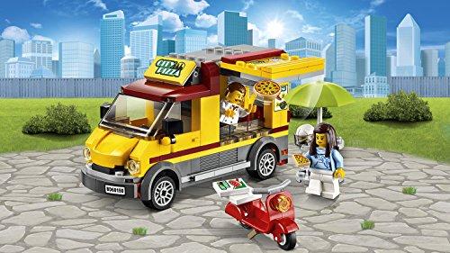 Lego - Jeu de construction - Le Camion Pizza - 60150 - City - 249 pièces