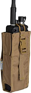 IDOGEAR Tactical Radio Pouch for Walkie Talkies PRC 148/152 Molle Radio Holder 500D Nylon