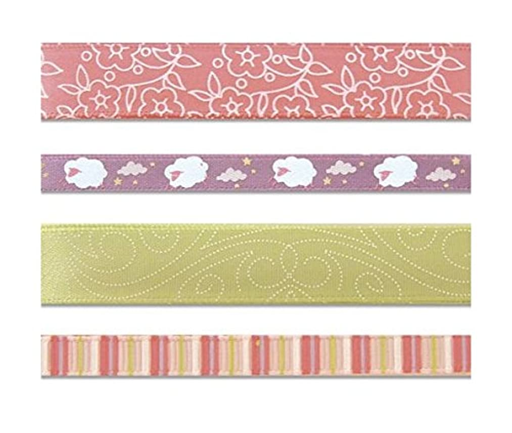 KAREN FOSTER Design Craft Ribbon Trimmings, Baby Girl
