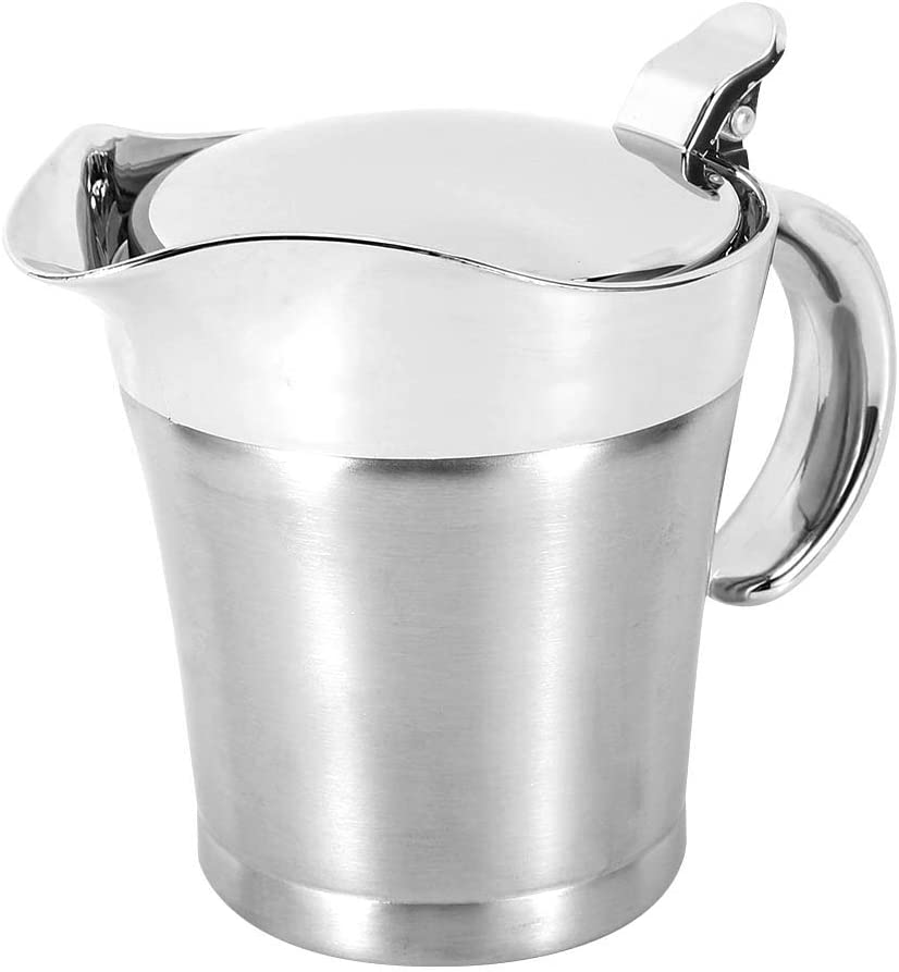 Multifunctional Max Large-scale sale 60% OFF Stainless Steel Seasoning Pot Container Kitchen
