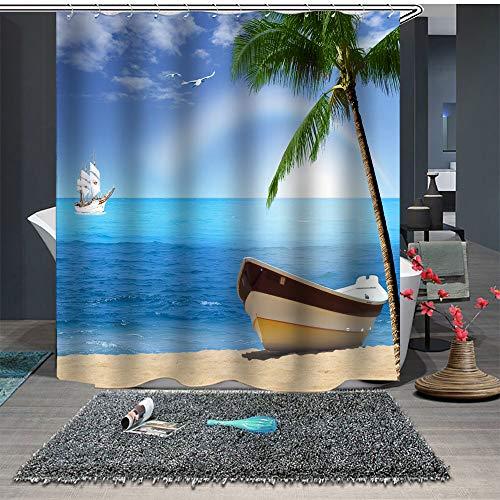 cortinas de baño plastico de playas
