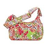 Ju-Ju-Be waschmaschinenfeste Handtasche mit Wickelunterlage- Hobobe - Blumen