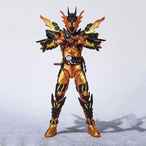 STKCST Anime Personajes enmascarados Superman Lava Dragón Manzhang Dragon I Lava móvil de Gama Alta de la muñeca Modelo Escultura Decoración Estatua 16CM Altura
