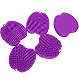 Cosmetic Brush Washing Mat Silicone Brush Cleaning Board for Easy Cleaning for Makeup Tool Use