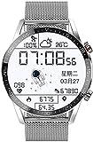 PKLG Smart Watch Uomini Bluetooth Chiamata IP67 Impermeabile Cardiofrequenzimetro Fitness Watch Sport Smartwatch per Android iOS (A)(C)