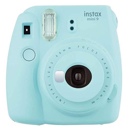 Fujifilm - Instax Mini 9 - bleu glace - appareil seul
