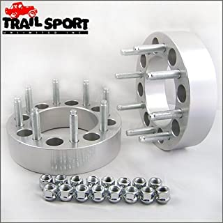 trailsport4x4 2 inch Wheel Spacer Kit with Studs for Ford F350 Dually - 8x200 Hub