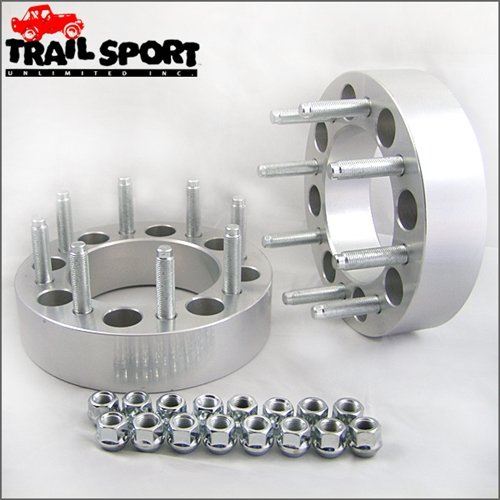 Great Features Of trailsport4x4 2 inch Adapter Kit for Ford - 8x6.5 Hub to 8x170 Wheel