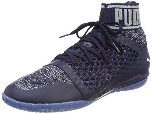 Puma Herren 365 Evoknit Netfit CT American Football Schuhe, Blau (Peacoat-Quarry White), 45 EU