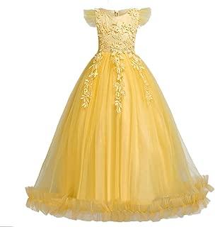 Girls Pageant Party Long Dresses Flower Girl Wedding Dress
