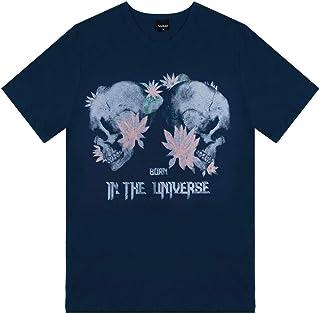 Camiseta Meia Malha Masculina Verão Rovitex Teen