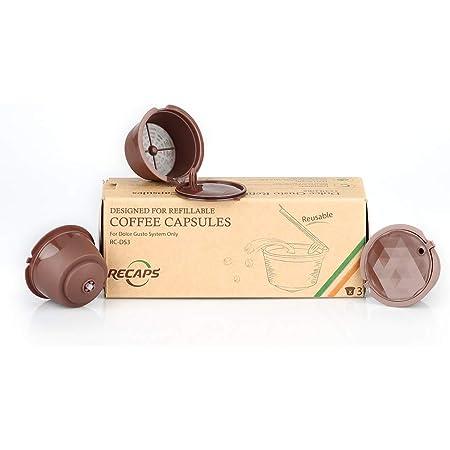 Recaps Cápsulas De Café Rellenables Compatibles Con Nescafe Dolce Gusto Brewers Kitchen Dining
