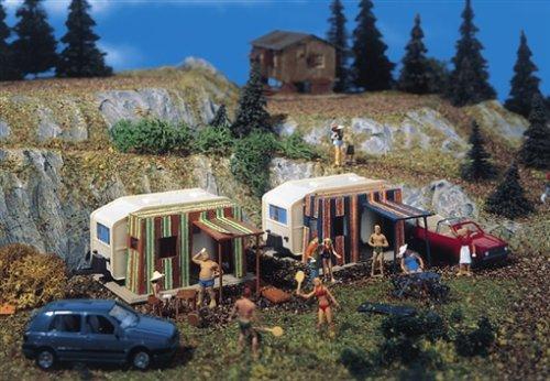 5145 - Vollmer H0 - Campingwagen mit Vorzelt