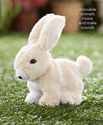 Hoppy the Rabbit Easter Bunny Battery Operated Hopping Rabbit