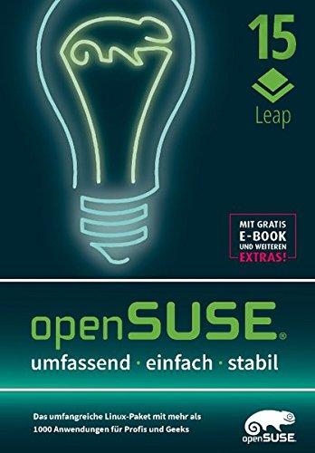 openSUSE Leap 15: Das umfangreiche Linux-Paket mit mehr als 1000 Anwendungen für Profis und Geeks