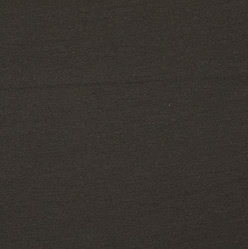 Schickliesel French Terry (Sommersweat) Uni (schwarz)