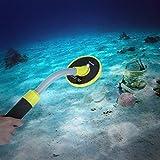 CALDIPREE 98ft Waterproof Pinpointer Pulse Induction Metal Detector Treasure Gold Hunting Unearthing Tool