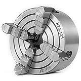 Llave Mandril Mophorn Mandril Torno Metal de 4 mordazas 200 mm Mordazas Independientes