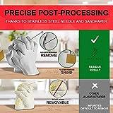 Bcamelys Impresión de mano 3D – Juego de impresión de manos y yeso | Impresión realista para bebés y parejas familiares | huellas de manos o pies | Regalo de aniversario | Kit DIY de 600 g