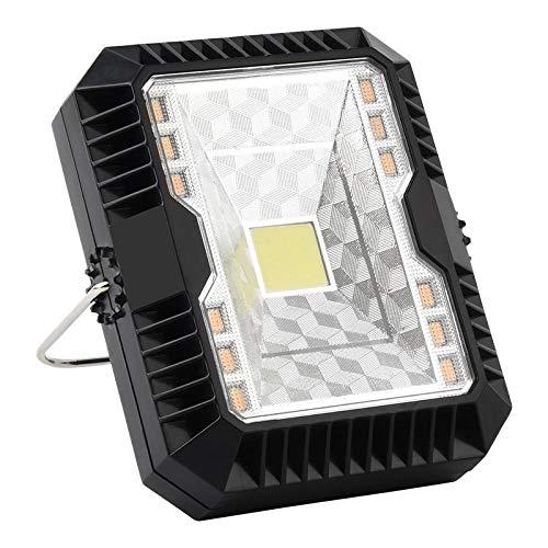 shenlanyu Campinglampe Solar + USB Wiederaufladbares Led-licht 3 Modi Flutlicht Camping Arbeitslampe Unterstützung
