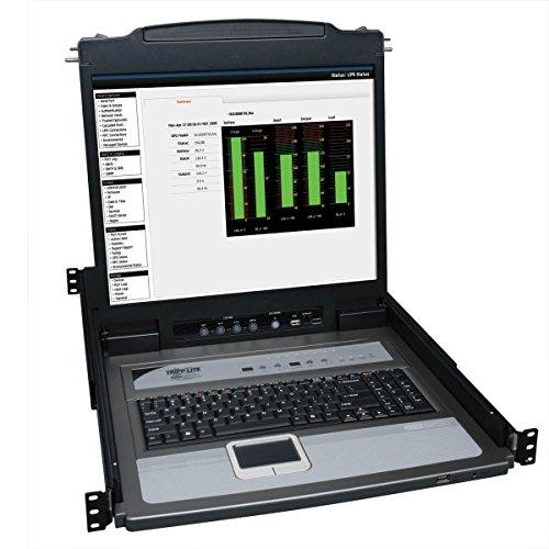 Tripp Lite B020-U08-19-K 8-Port Console KVM Switch w/ 19