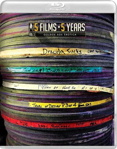 Vinegar Syndrome's 5 Films 5 Years: Volume 3 [Blu-ray]