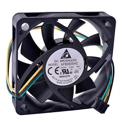AFB0605HC 6CM 60 * 60 * 15MM 3-wire Cooling fan 6015 5V 0.40A Axial fan