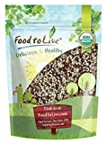 MIX IN ONE PACK: One pack contains Organic Red Quinoa, Organic White Quinoa, Organic Millet, and Organic Buckwheat. GLUTEN-FREE & NON-GMO: Food to Live Organic Super Grains Mix is a certified organic product with no gluten. NUTRITION BOOST: Organic S...