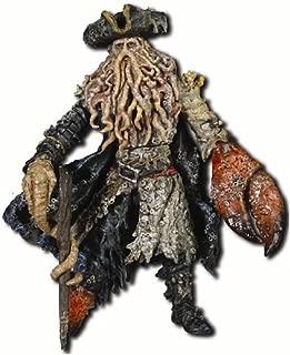 Disney Pirates Of The Caribbean Dead Mans Chest: Davey Jones with Walking Stick, Heart Box & Key