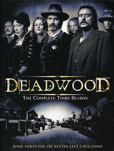 Deadwood:S3 free DVD Sales of SALE items from new works