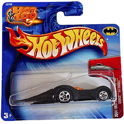 Hot Wheels Crooze Batmobile First Editions 69/100 2004 Short Card