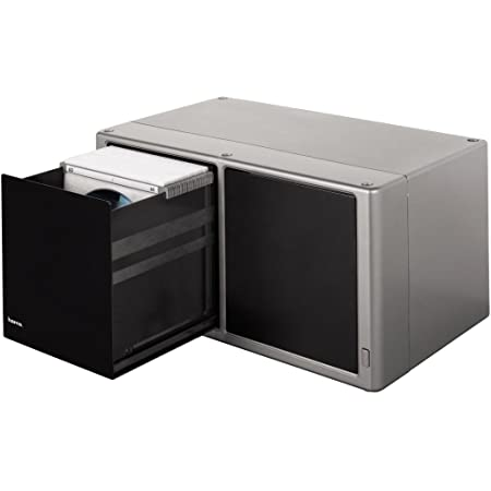 Hama Cd Dvd Blu Ray Magic Touch Aufbewahrungsbox Elektronik