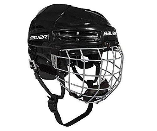 Bauer Helm mit Gitter IMS 5.0, Kopfumfang 54-58, in der Farbe blk