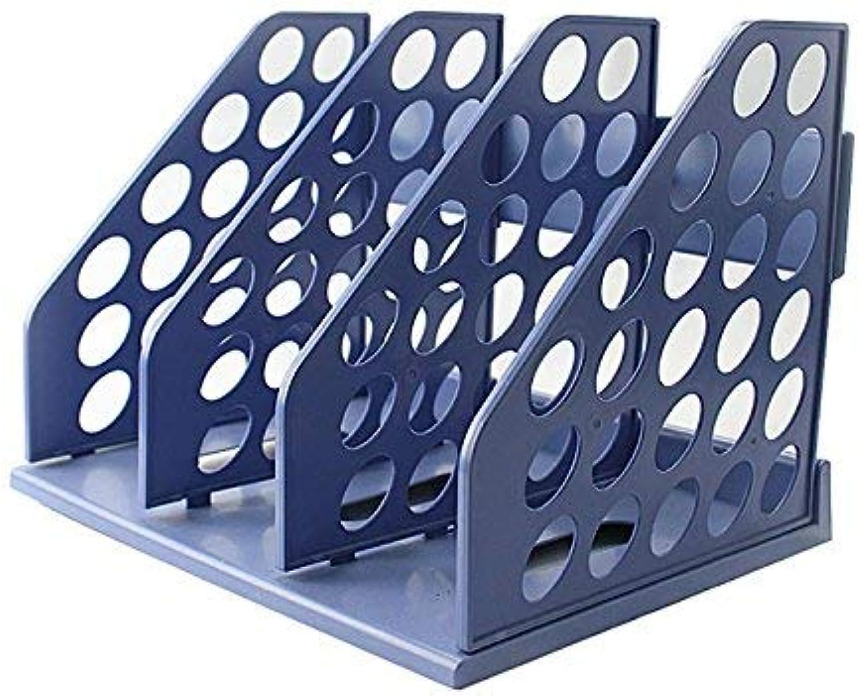 Dauerhafte Buchstütze Bürobedarf 3 Regal Regal Regal 3-Bar-Ordnerrahmen Korb 3 Gitterbuchregal B07P9PYFT7   Wir haben von unseren Kunden Lob erhalten.  edf0e3