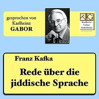 Rede über die jiddische Sprache Titelbild