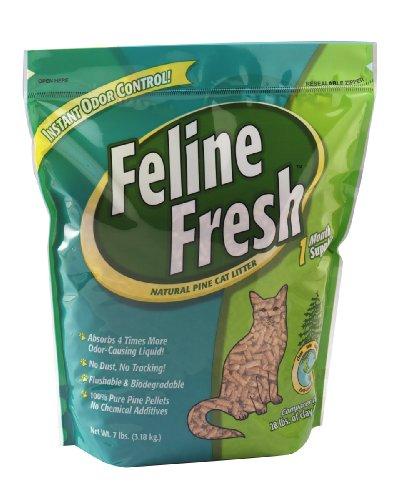 Feline Fresh Natural Pine Cat Litter, 7 lbs