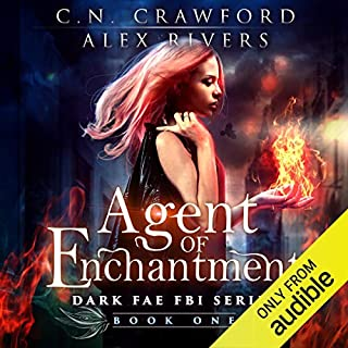 Agent of Enchantment audiobook cover art