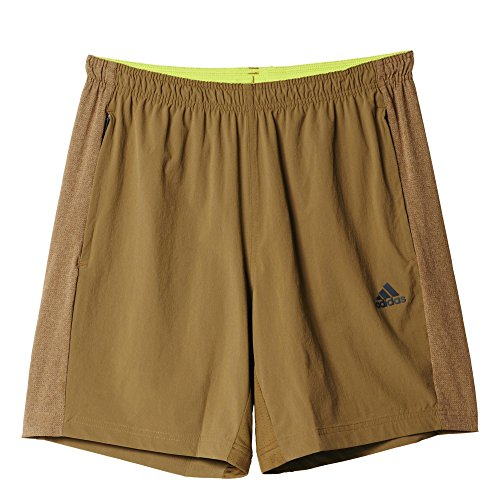 Adidas Q4 Cool365 Shor Short Homme, Marron, FR : L (Taille Fabricant : L)