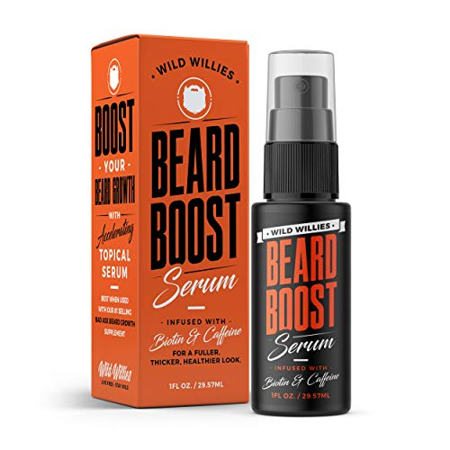 Wild Willies Beard Growth Boost Oil