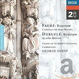 Requiem/Quatre Motets/+ - eorge Guest