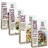 PurePasta Konjac Spaghetti – Noodles- Riso Senza Glutine 10-pack 200 grammi | Pasta Gluten Free Di Glucomannano | Di Farina Senza Glutine | Ideali Per Celiaci | Cibo Vegano
