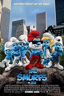 SMURFS (2011) Original Authentic Movie Poster 27x40 - Dbl-Sided - Neil Patrick Harris - Jayma Mays - Anton Yelchin - Hank Azaria