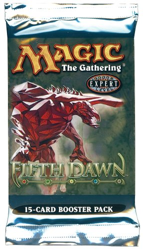1 (One) Pack of Magic the Gathering MTG Fifth Dawn Booster Pack (OUT OF PRINT)