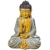 Mobiliario, decoración - Estatua, Figura, Escultura Buda - estilo: étnica - Color: Multicolor -...