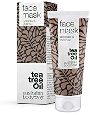 Australian Bodycare Face Mask 100ml Tea Tree Oil | Deep Cleansing Face Mask against Blackheads and Pimple | Exfoliation Prevention | Face Mask with Natural, Active Ingredients