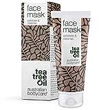 Australian Bodycare Face Mask 100 ml – Maschera all'argilla purificante contro punti neri e brufoli - Adatta a tutti i tipi di pelle – Con Tea Tree Oil di qualità farmaceutica – 100% vegana