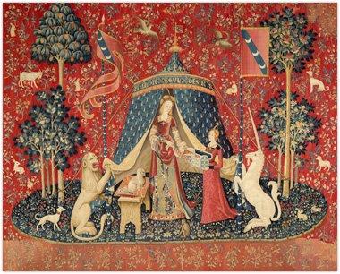 The Lady and the Unicorn Mon seul Desir (貴婦人と一角獣 我が唯一の望み ) クロスステッチキット