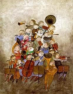Oda a La Alegria by Graciela Rodo Boulanger. Fine Art Print Poster (27 x 34)